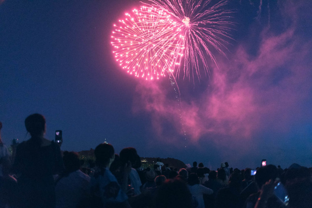 【2018花火大会】神奈川・江ノ島納涼花火大会