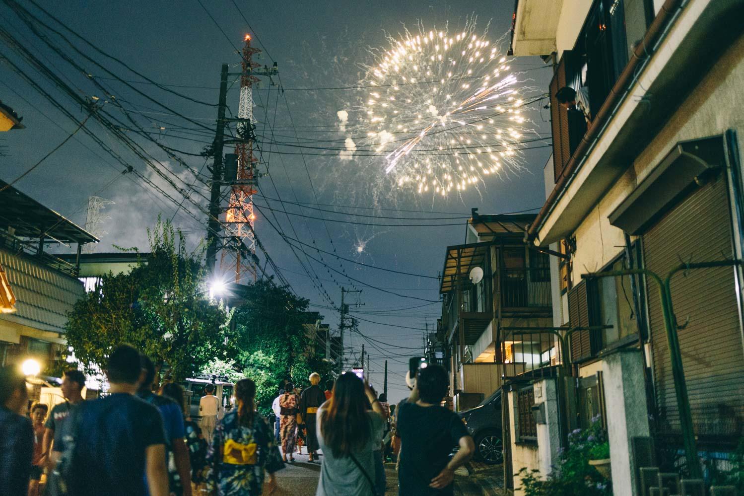 【2018花火大会】神奈川・鶴見川花火大会