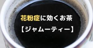 【体験談】ジャムーティーは花粉症に効果あり!特にくしゃみ、鼻水、鼻づまりに効く!